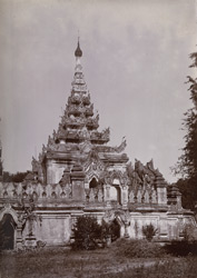 Okkyaung: showing the chapel, [Maha Aungmye Bonzan, Ava].